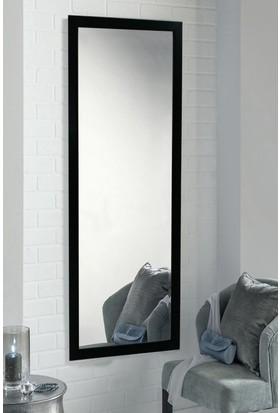 Tablo Center 37x97cm SiyahÇerçeveli Boy Aynası
