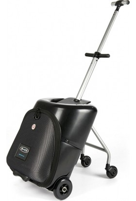 Micro Scooter Lazy Luggage Black Scooter
