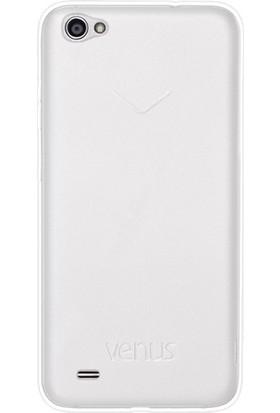 Vestel Venüs E3 Şeffaf Arka Kapak + Temperli Ekran Korucu