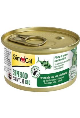 Gimcat Shinycat Tuna Balıklı Kabaklı Kedi Konserve 70 gr