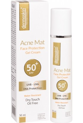 Dermoskin Acne Mat Face Protection Gel Cream Spf50