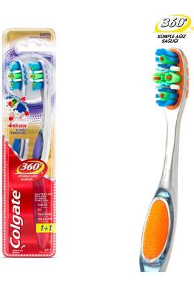 Colgate Diş Fırçası 360° Gelişmiş Orta 1+1