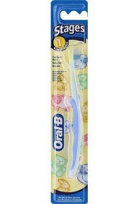 Oral-B Stages Çocuk Diş Fırçası 4 Aydan itibaren