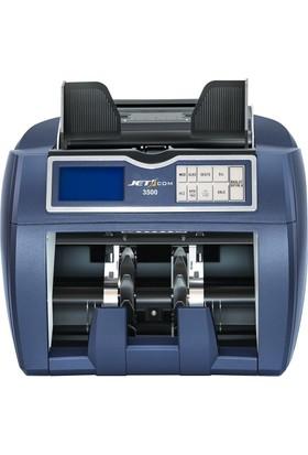 Jetcom 3500 Karışık Para Sayma Makinesi - Profesyonel (%100 TL, Euro, Usd, GBP Kontrollü)