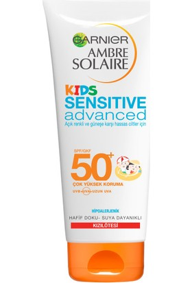 Garnier Ambre Solaire Sensitive Advanced Çocuk Sütü GKF50+200 Ml