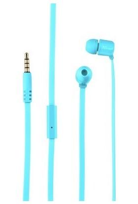Trust 22107 Urban Ziva Kulak İçi Mikrofonlu Yumuşak Kulaklık Mavi