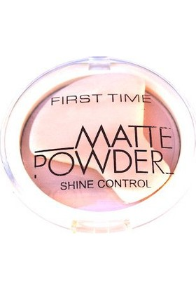 First Time Matte Powder Shine Control 01 Açık Ton
