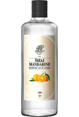 Rebul Mandarine - Mandalina Kolonyası 270 Cc (Cam Şişe)