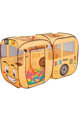 Pop Up House Otobüslü Çocuk Oyun Çadırı Büyük Boy