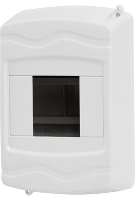 A Plus Elektrik Sigorta Kutusu 3-4 Lü Sıva Üstü