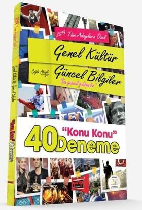 Yargı Yayınları 2019 Tüm Adaylara Özel Genel Kültür Güncel Bilgiler Konu Konu 40 Deneme - Çağla Abaylı