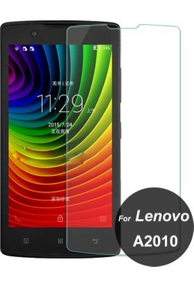 Case 4U Lenovo A2010 Cam Ekran Koruyucu