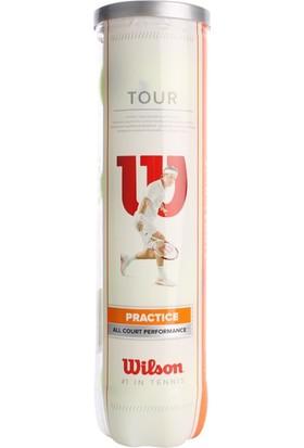 Wilson Tour Antrenman 4'lü Tenis Topu
