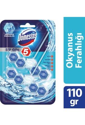 Domestos Wc Blok 5'li Okyanus Duopack 110 gr