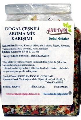Asudan Doğal Çeşnili Aroma Mix Karışımı 100 gr