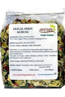 Asudan Doğal Sebze Kurusu Karışımı 100 gr