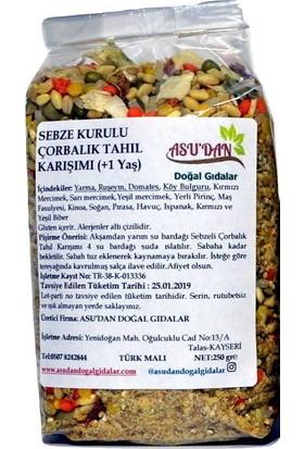 Asudan Sebze Kurulu Çorbalık Tahıl Karışımı 250 gr