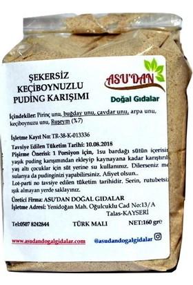 Asudan Şekersiz Keçiboynuzlu Puding Karışımı 160 gr