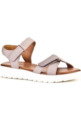 Cabani Günlük Kadın Sandalet Gri
