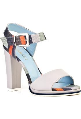 Cabani Tokalı Günlük Kadın Ayakkabı Gri