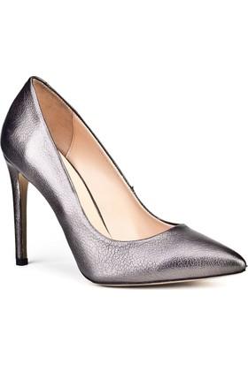 Cabani Topuklu Stilletto Günlük Kadın Ayakkabı bronz