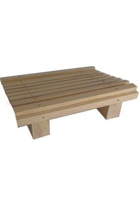 Wooden Gold Ergonomik Masa Altı Ayak Desteği - Çocuklar İçin