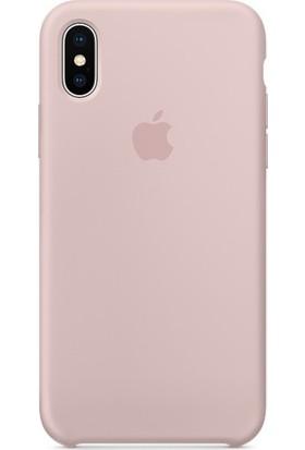 Graytiger Apple iPhone X Kum Pembesi Silikon Kılıf Kauçuk Arka Kapak