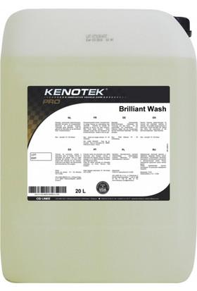 Kenotek Brillant Wash Yüksek Cilalı Şampuan 5 Lt
