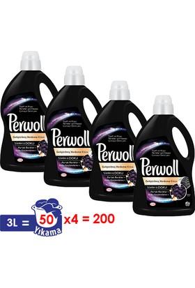 Perwoll Yenilenen Siyahlar Hassas Çamaşır Deterjanı 3 lt 4'lü Set