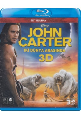 John Carter - İki Dünya Arasında - 3D Blu-Ray
