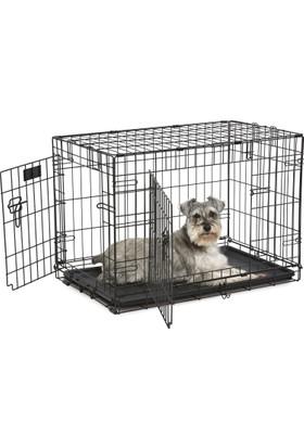 """Midwest Çift Kapılı Köpek Kafesi 30"""" - 830DD"""
