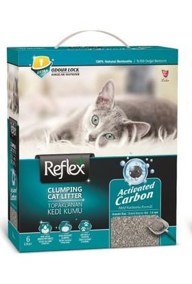 Reflex Granül Aktif Karbonlu Topaklanan Kedi Kumu 6 Lt