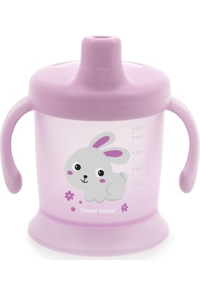Canpol Babies Bunny & Company Collection Damlatmaz Bardak Mint 2. Bardak 9+ Ay 200 ml