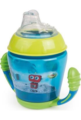 Canpol Babies Happy Vehicles & Forest Friends Collection Bpa'sız Damlatmaz Alıştırma Bardağı Astronot 9+ Ay 230 ml