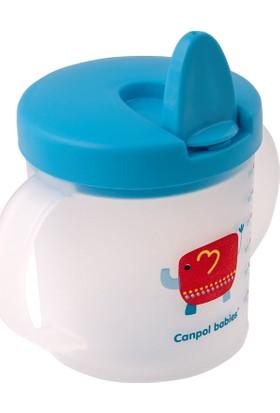 Canpol Babies Katlanır Ağızlıklı Bpa'sız Alıştırma Bardağı Red Elephant 2. Bardak 9+ Ay