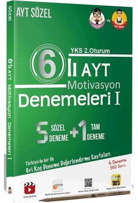 Tonguç Akademi 12. Sınıf 6'lı AYT Motivasyon Denemeleri I - Sözel