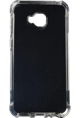 Case 4U Asus Zenfone 4 Selfie ZD553KL Kılıf Darbeye Dayanıklı Arka Kapak - Anti Shock - Şeffaf