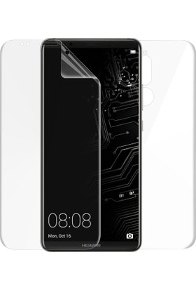 Case 4U Huawei Mate 10 Lite Erkan Koruyucu Ön + Arka Tam Ekran Kaplayıcı Film