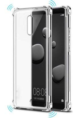 Case 4U Huawei Mate 10 Lite Kılıf Darbeye Dayanıklı Sert Silikon Kılıf - Anti Shock - Şeffaf
