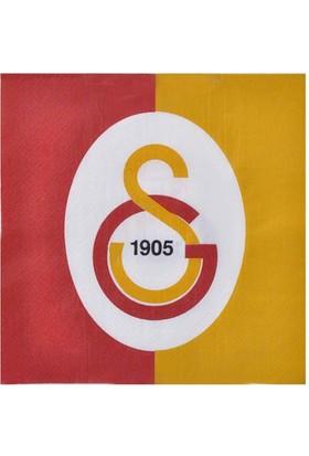 Tahtakale Toptancısı Galatasaray Temalı Taraftar Kağıt Peçete 33*33 (16 Adet)