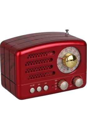 Kamal Km 160 Nostaljik Dekoratif Bluetooth Usb Sd Fm Am Sw 3 Band Radyo