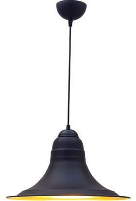 Bamyum Retro Sarkıt Avize Siyah