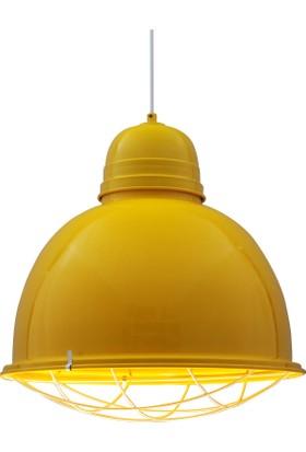 Bamyum Retro Sarkıt Avize Sarı