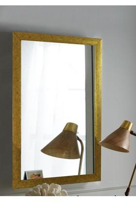 Tablo Center 37x47cm Altın Varak Çerçeveli Ayna