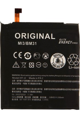 Teleplus Xiaomi Mi 3 Batarya ( BM-31 )