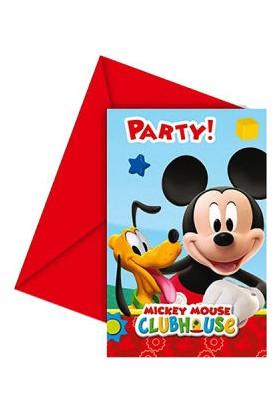 Partici Mickey Playful Davetiye