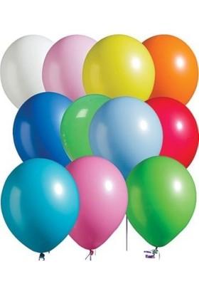 Partici Pastel Karışık Renk Balon