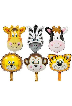 Partici Sevimli Hayvanlar Folyo Balon Set 36 cm