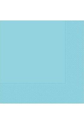 Partici Açık Mavi Kağıt Peçete