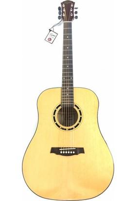 Kozmos Kda - 20 Nat Akustik Gitar Kılıf + Askı